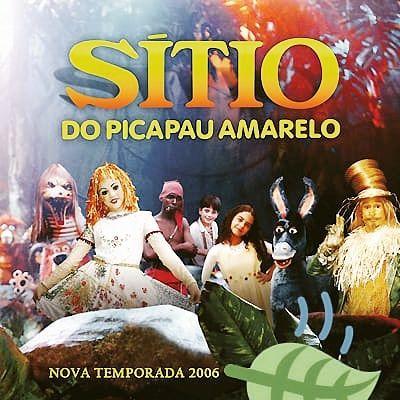 Dvds Sítio do Picapau Amarelo 2006 - Frete grátis