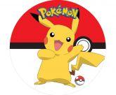 Papel Arroz Pokémon Redondo 005 1un