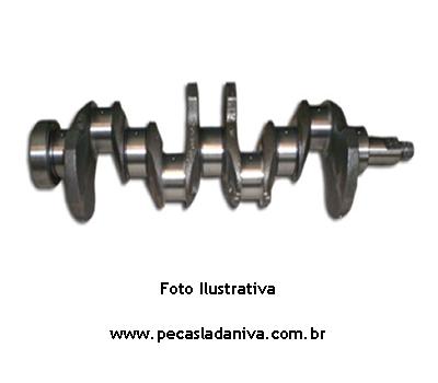 Virabrequim Retificado  Motor Laika 1.6 Medida 0,25 mancal e Biela (usado) Ref. 0113