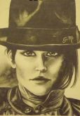 Moça com chapéu