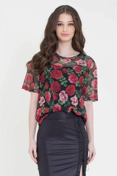 Blusa Bad Roses