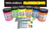 Tinta acrílica fluorescente 20ml Corfix