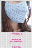 Máscara de Tecido - unidade - modelo 3D