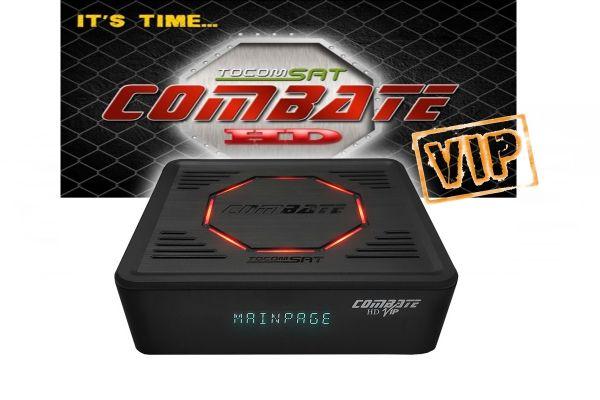 Receptor Tocomsat Combate HD VIP ACM SKS IKS E CS - Shopping Ney