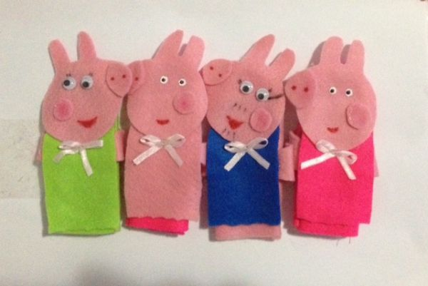 Dedoches Família Pepa Pig