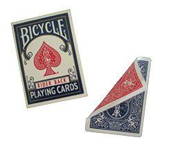 Bicycle duplo dorso Vermelho/Azul  #456