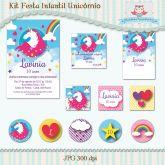 Kit Festa Infantil Unicórnio I