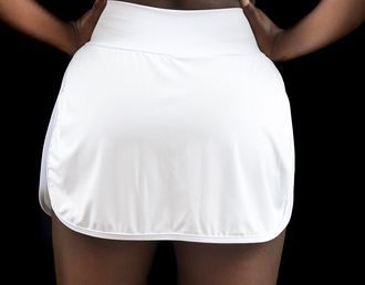 Short Saia C/Bolsos Branco - Emana