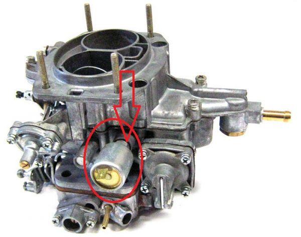 Agulha Da Marcha Lenta do Carburador Weber Russo Niva de 90>93 (Novo) Ref. 0609