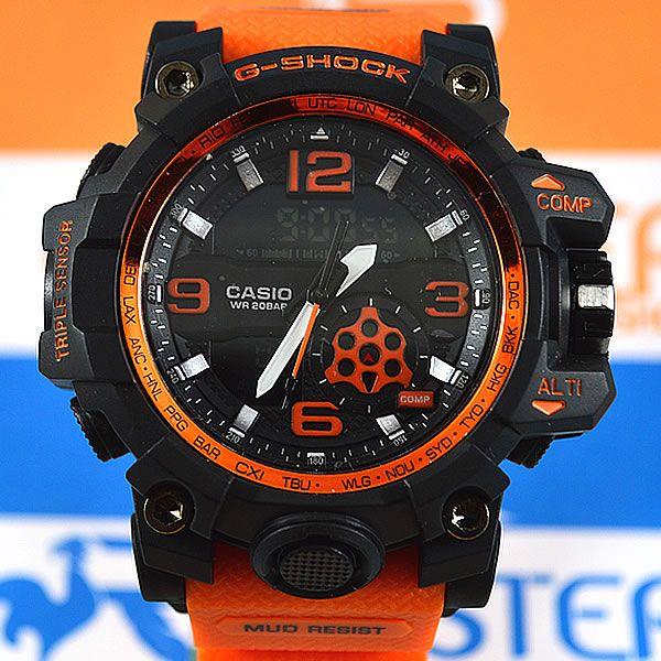 ad024a62992 Relógio Casio G-Shock Mudmaster Preto Pulseira Laranja Masculino ...