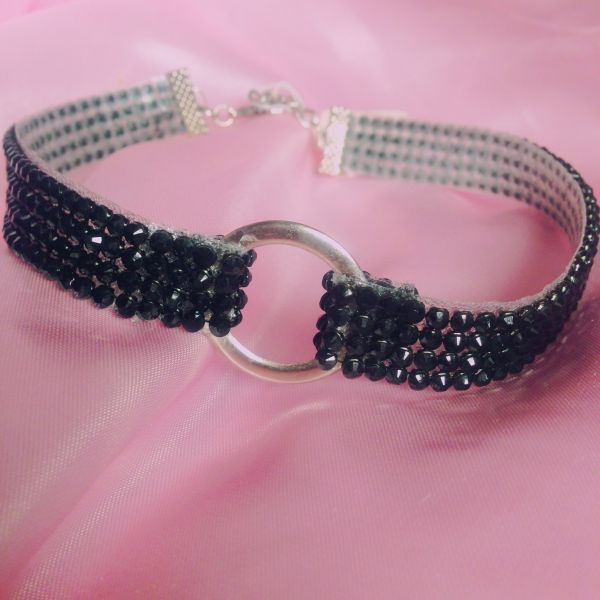 CHOKER RING BLACK
