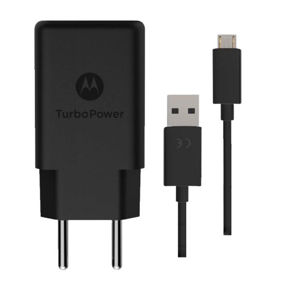 Kit Carregador Micro USB 18w Motorola