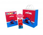 Kit para colorir Homem Aranha