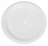 Prato Branco Descartável Raso 23cm 10un