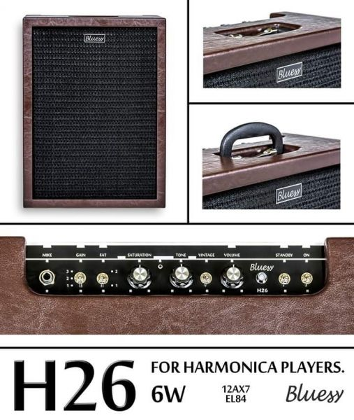 Amplificador  Bluesy H-26