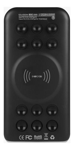 Carregador Portátil Energy2U 10000mAh Wireless