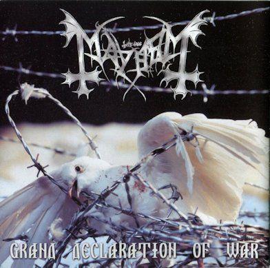 CD Mayhem - Grand Declaration of War