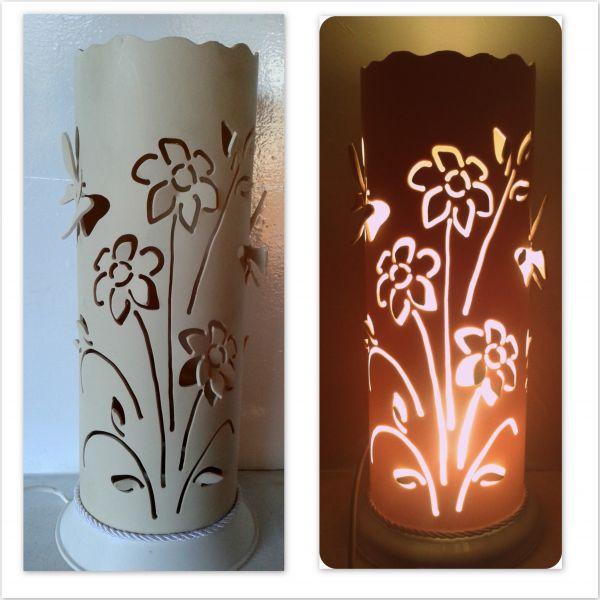 Luminaria Pvc Flores Borboletas 3d044d Traco De Luz Luminarias E