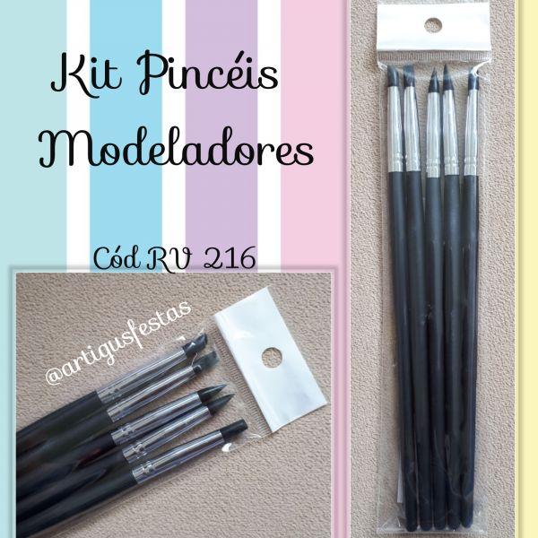 Kit Pincéis modeladores- RV 216