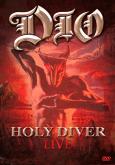 """Dio - """"Holy Diver Live""""  DVD Nacional, Não contém Encarte!!!!!!"""