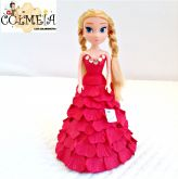 Mini boneca  decorativa da Bem me quer Art's