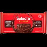 Cobertura em Barra de Chocolate Meio Amargo Selecta 1kg 1un