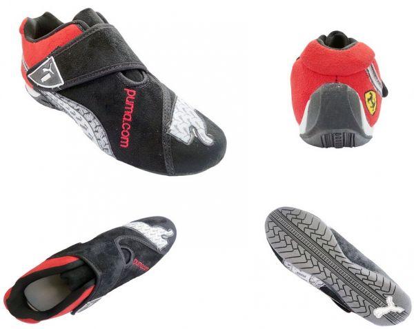 8181dd8cfda21 Tênis Puma Ferrari New Preto e Vermelho Mod:10302 - LOOK SHOP