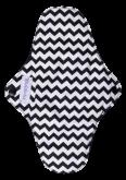 Absorvente Violeta Cup G - Zig-Zag