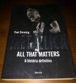Metallica - All that Matters Livro, Usado