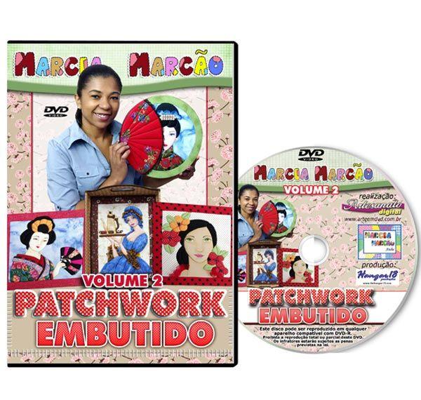 DVD - Patchwork Embutido - Volume 2
