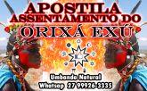 APOSTILA ASSENTAMENTO ORIXÁ EXÚ