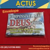 Envelope impossível mas Deus pode