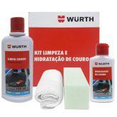 Kit Limpeza e Hidratação de Couro Wurth