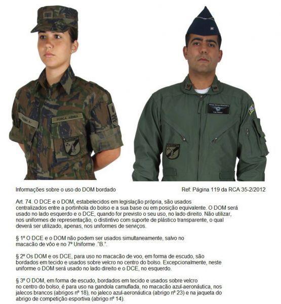Pontes Artigos Militares. DOM Bordado III COMAR. DOM Bordado III COMAR 125eb7b55a4