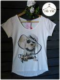 Tee Dog [ Fashion Glamour ] Off White