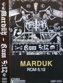 MARDUK - Rom 5:12 - CASSETE