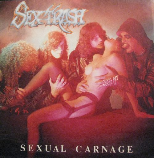 CD - Sextrash ‎– Sexual Carnage