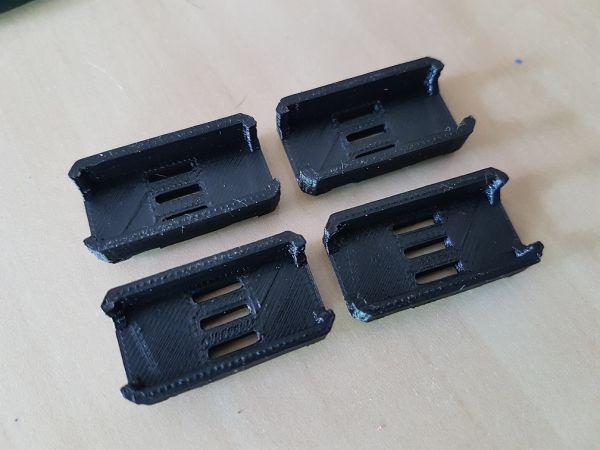 KIT c/ 04 Protetores de ESC em ABS (COR PRETO)