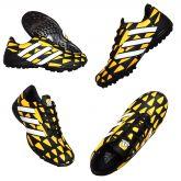 c7de7369c26f2 Chuteira Society Adidas Nitrocharge 3 Preto e Amarelo