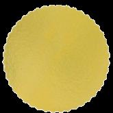 Cake Board Ouro Redondo 350mm 1un