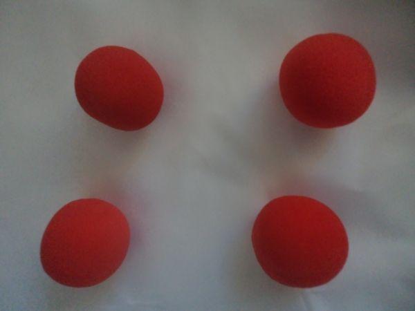 2. PROMOCAO!!!Bolas de espuma made in China (4 bolas) #1317