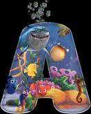 Alfabeto - Procurando Nemo 6 - PNG