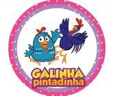 Papel Arroz Galinha Pintadinha Redondo 006 1un