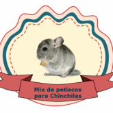 Mix de Petiscos para Chinchilas
