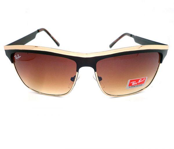 58a0be17b Óculos Ray Ban Dourado MOD:23082 [1ª Linha] - O$tentação Réplica$