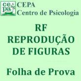 34.01 - RF - Teste de Reprodução de Figuras - Bloco c/ 25 Folhas de Prova