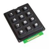 COD 1374 - Teclado Matricial 4x3 12 botões