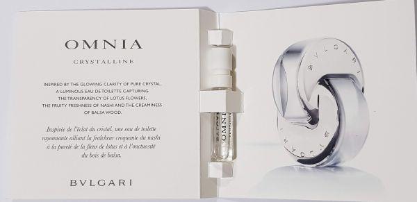 Amostra Perfume Importado Bvlgari Omnia Crystalline EDT 1,5ml