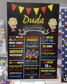 Chalkboard Duda - Mulher Maravilha Cute