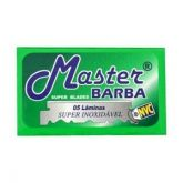 Lâmina de Barbear Inox Master - Master Barba
